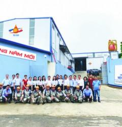 Nhà máy sản xuất dầu nhớt VSOil